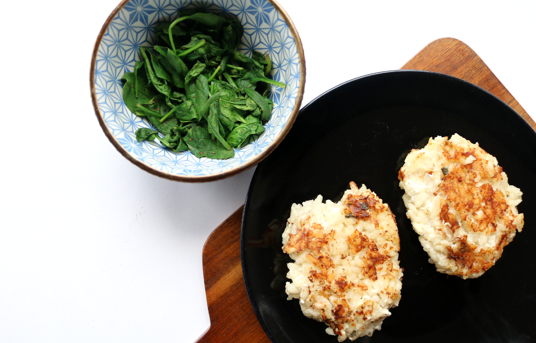 Sage and Ricotta Rice Cakes (Waitrose recipe)