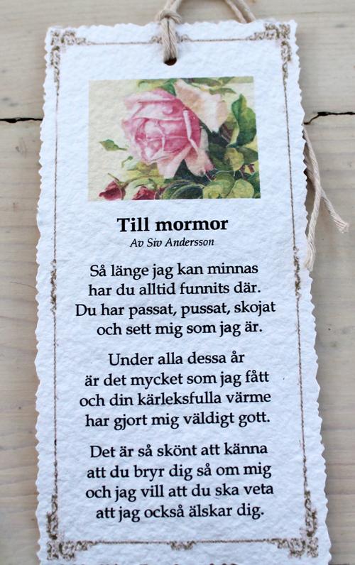 grattis mormor dikt Annas idéer bloggbutik: Diktkort! grattis mormor dikt