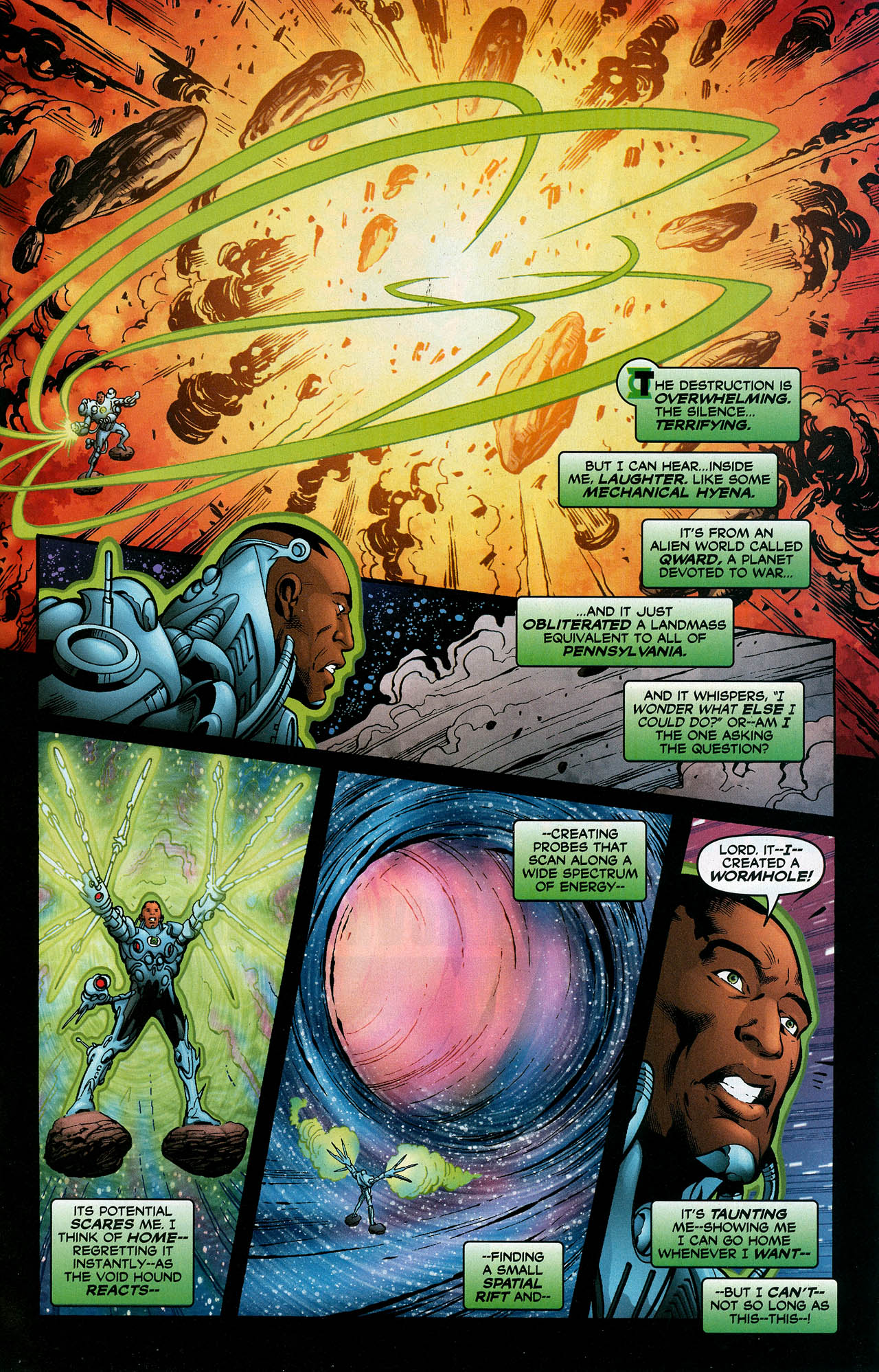 Read online Trinity (2008) comic -  Issue #23 - 20