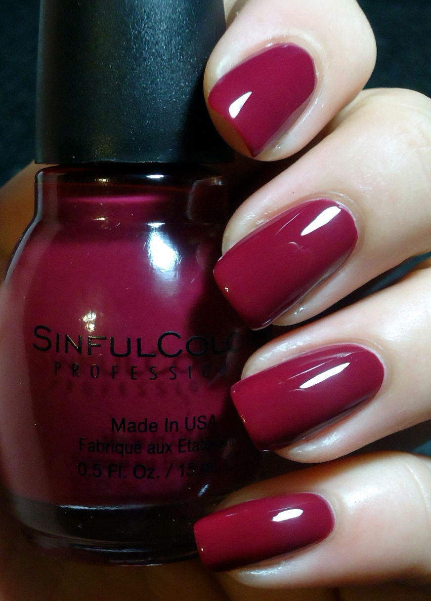Breezythenailpolishlover Sinful Colors Leather Luxe Swatches