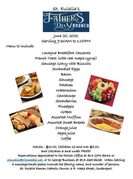 6-20 Fathers Day Brunch