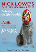 Nocturama presenta a Nick Lowe & Los Straitjackets.