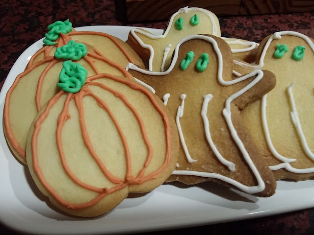 Galletas de hallowen