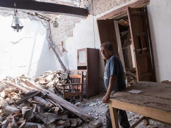 Temblor de 5.8 grados sacude otra vez Oaxaca