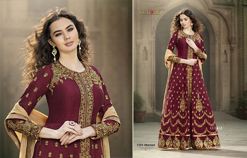 Gulzar 1501 Colors – Different Type Of Style Salwar Suit