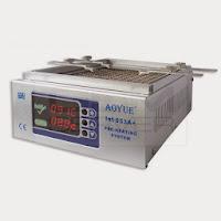 Precalentador infrarrojo de placas AOYUE Int 863 se usa para la soldadura sin plomo por infrarrojos y soldadura con aire caliente