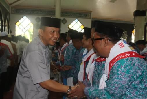 Bupati Lepas Resmi Rombongan JCH 2018 Kabupaten Kepulauan Selayar