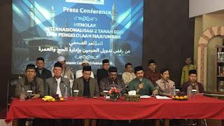 Internasionalisasi Haji akan Menimbulkan Problema Besar dan Persengketaan serta Perselisihan yang Berbahaya
