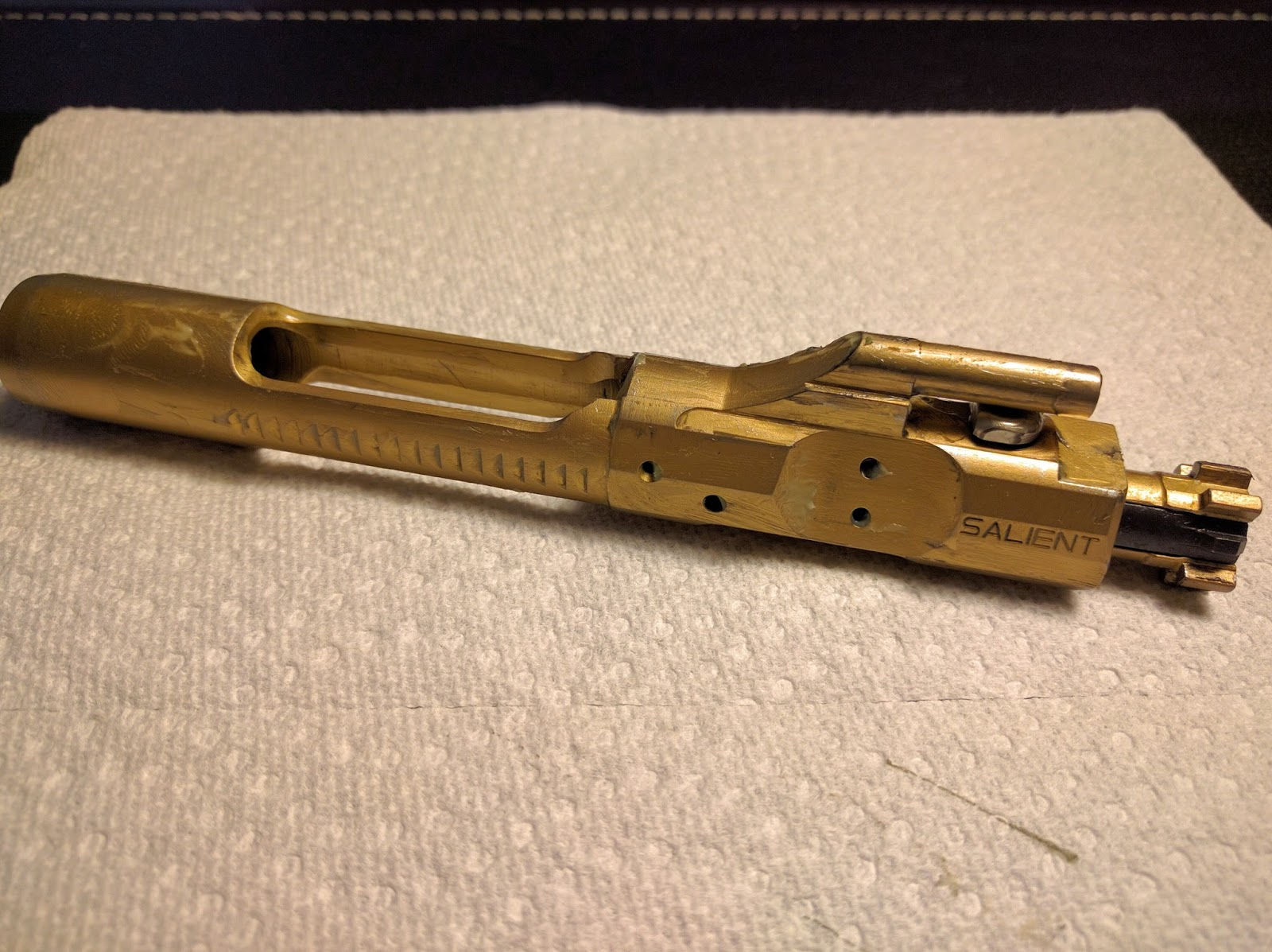 Salient arms international tin bolt carrier group quite possibly after i had completed cleaning re lubricating and reassembling the bcg and rifle i felt as though i made a good decision in buying the bcg from salient sciox Images