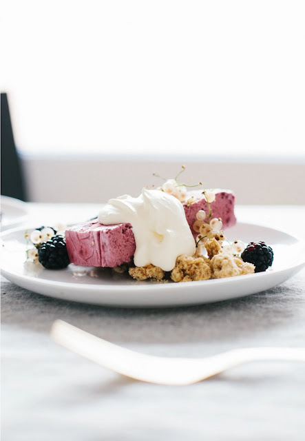 Semifreddo with Toasted Oat Crumble | not without salt