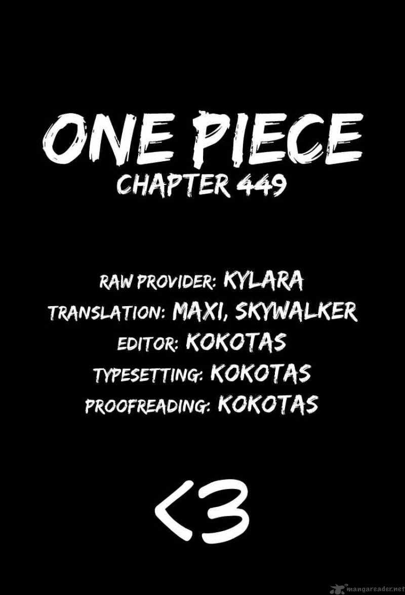 One Piece 449