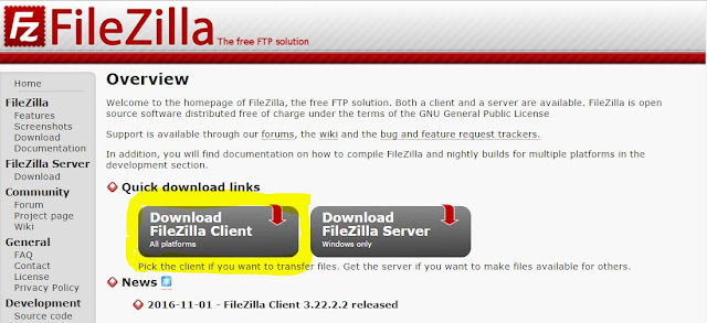 How to Download And Install FileZilla With FileZilla Using Tutorial Step 2