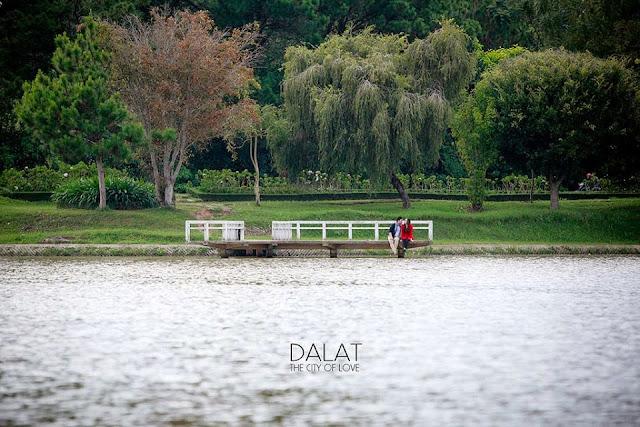Địa điểm Đà Lạt: Hồ nhân tạo Xuân Hương