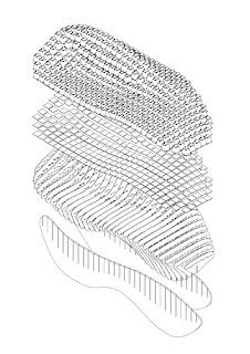 Terreform : Mycoform Surface: Multi-Curved Mycelium