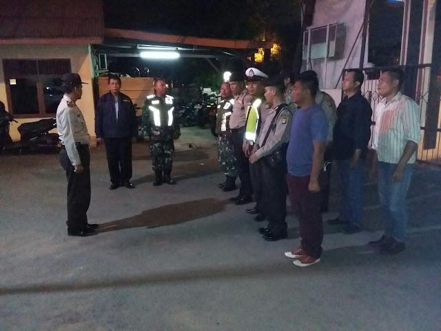 Polsek Batuceper Terus Bersinergi dengan TNI