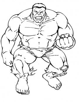 Dibujos animados para colorear hulk para colorear for The hulk coloring pages
