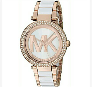 Michael Kors Women's Quartz Watch - Rose Gold-Toned
