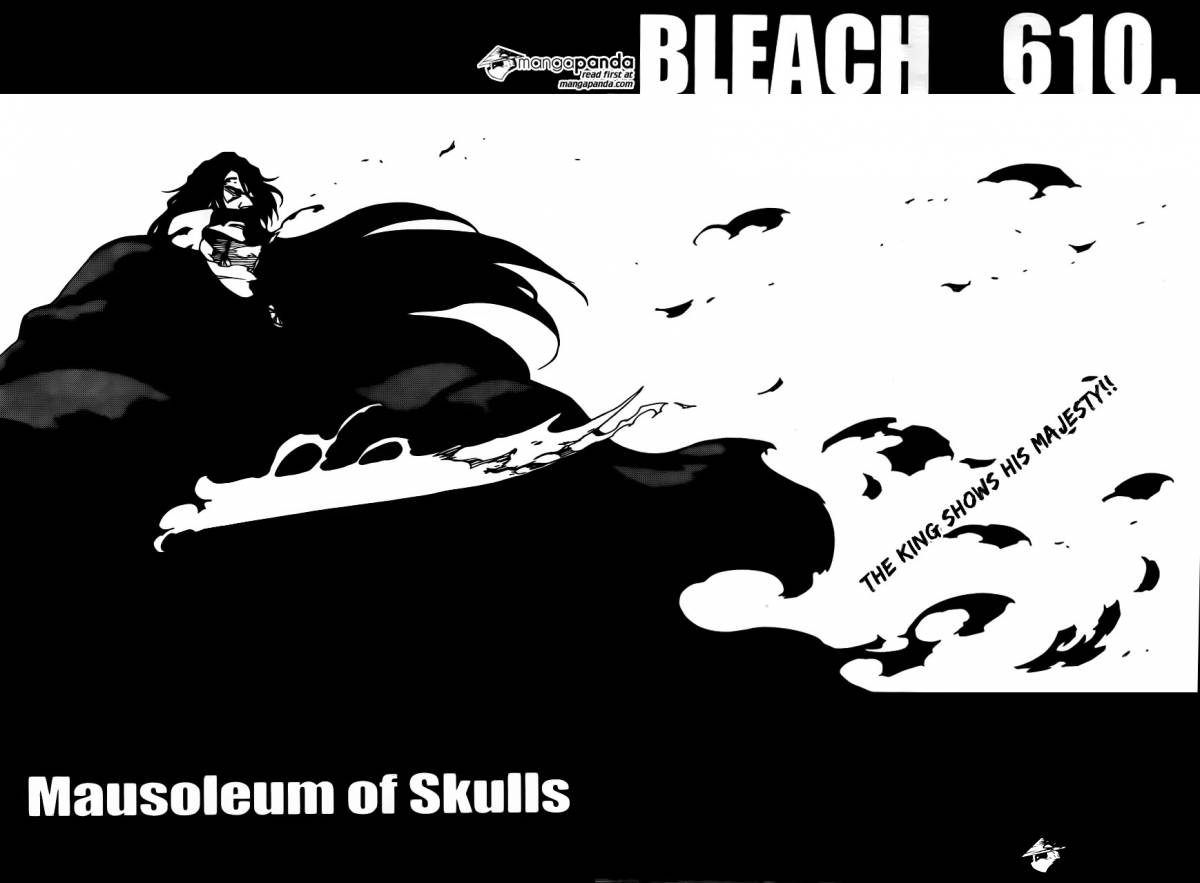 Bleach Ch 610: Mausoleum of Skulls