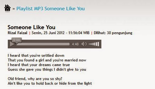 Audio streaming MP3