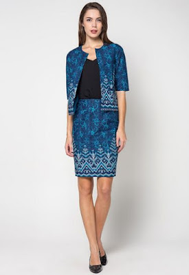 Model Baju Batik Solo Modern