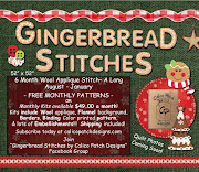 SAL PATCH - Gingerbread Stitches