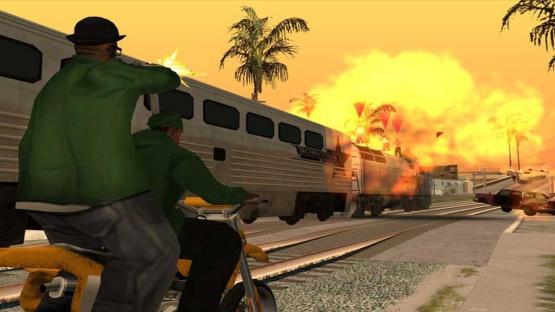 Gta San Andreas screenshot 4