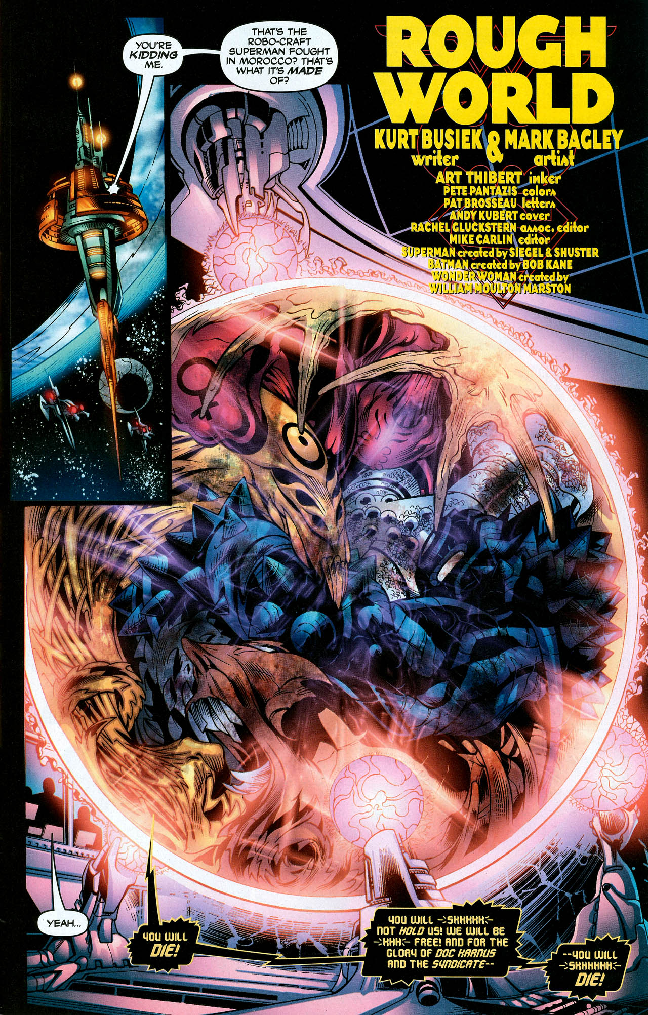 Read online Trinity (2008) comic -  Issue #10 - 5
