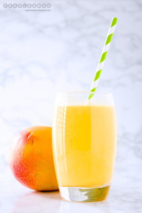 Lassi de mango enriquecido