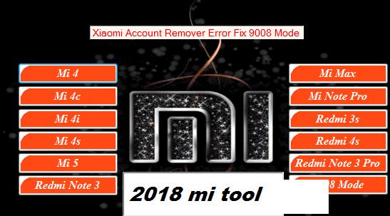 Xiaomi Mi Account Unlock Error Fix Tools Latest 2018 All