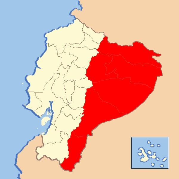 GEOGRAFA PARA TODOS Regin amaznica del Ecuador