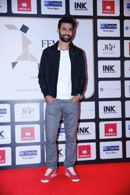 Freddy Daruwala at Femina Women's Award 2017