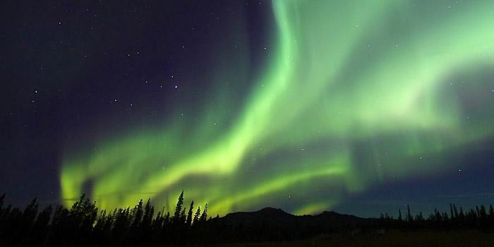 aurora boreal, Canada