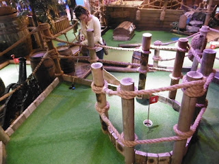 Indoor Pirate Adventure Golf course in Whitby