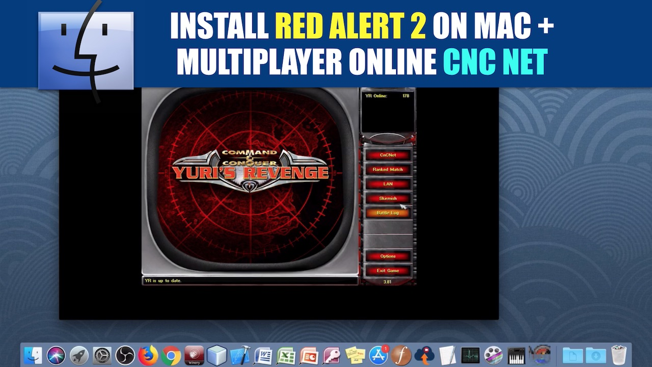 Install C&C Red Alert 2 YR on Mac + CnC Online Multiplayer