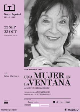 Una mujer en la ventana, de Juan Margallo, en el Teatro Español