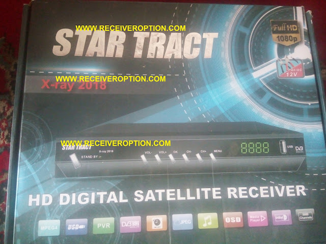 STAR TRACT X-RAY 2018 HD RECEIVER BISS KEY OPTION