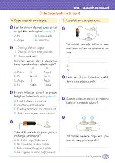 4. Sınıf Fen Bilimleri Ders Kitabı Cevapları Ata Yayınları Sayfa 147