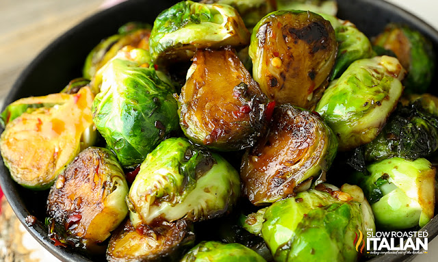 http://www.theslowroasteditalian.com/2015/10/pan-fried-brussels-sprouts-sweet-chili-sauce.html