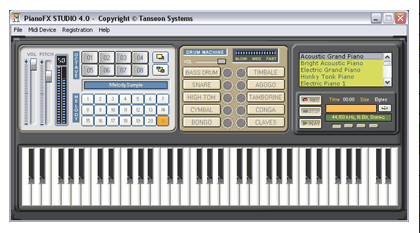 logiciel pianofx studio gratuit
