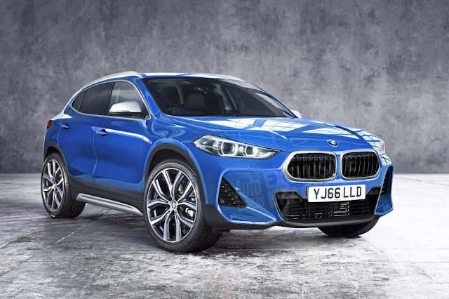 2018 New BMW X2 Coupe SUV to Keep Concept Car looks