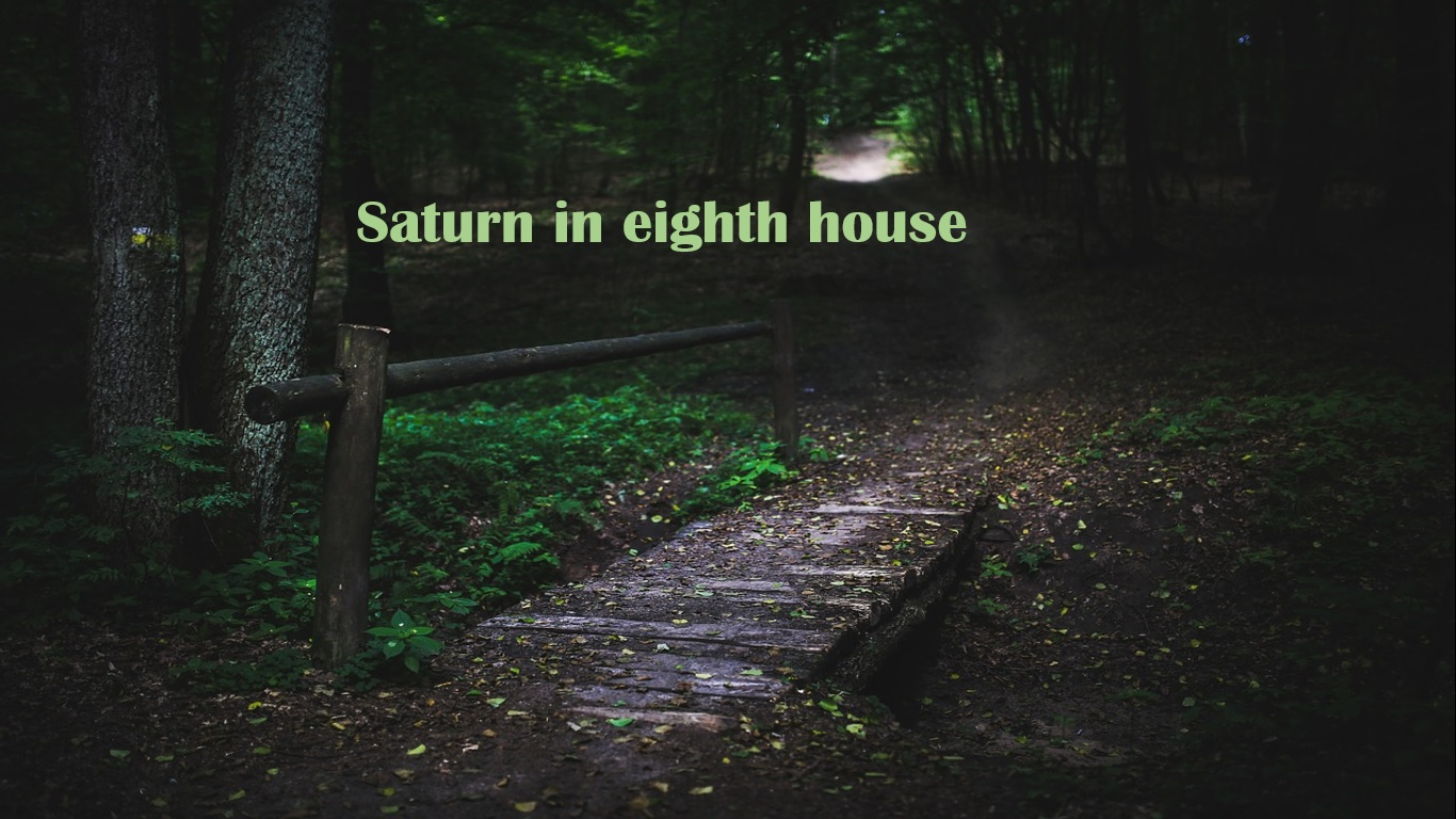 Saturn in eighth house