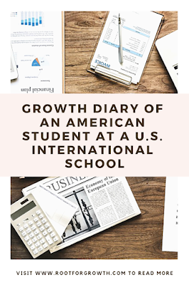 Personal development and personal growth story of an American student