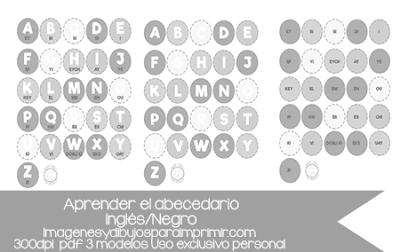 abecedario en inglés y su pronunciación pdf