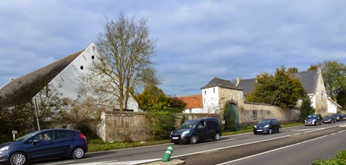 Another view of La Haie Sainte farmhouse