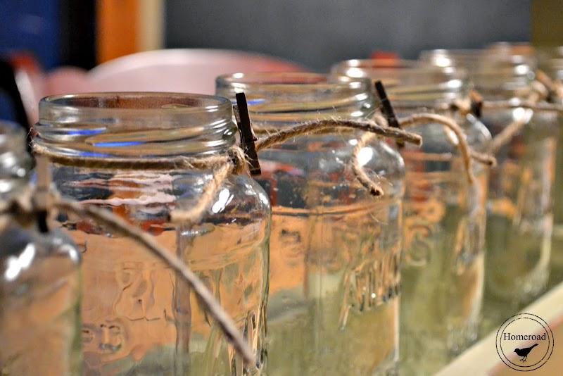 Extra Long Toolbox Mason Jar Organizer