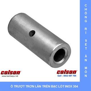 Bánh xe chịu nhiệt càng inox 304 xoay Colson Caster | 2-4456-53HT banhxedaycolson.com