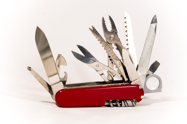 Swiss Army Knives and the Power of the Personal Cloud