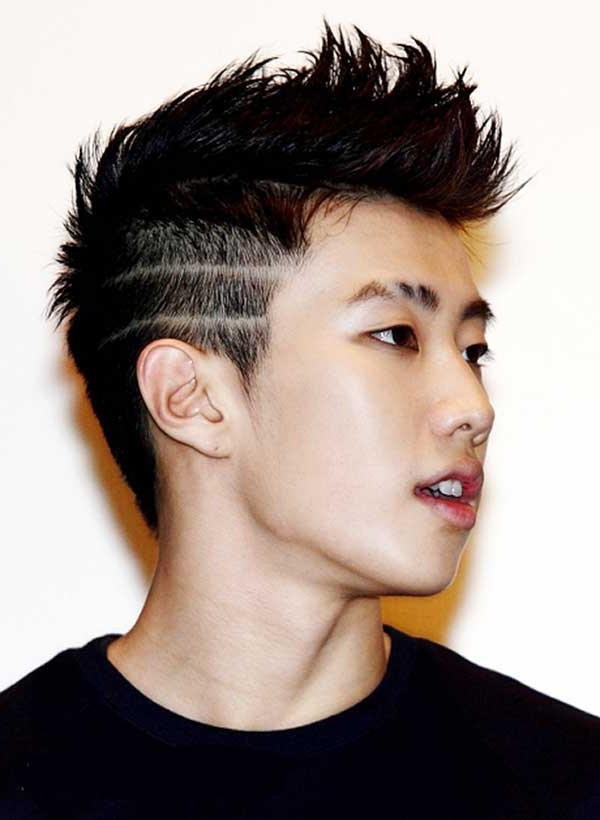 24 Top Konsep Potong Rambut Pria Garis