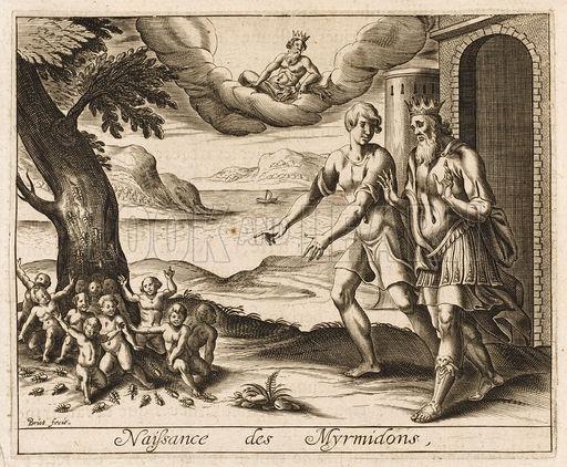 Resultado de imagen de Mirmidones, hombres descendientes de las hormigas según la mitología