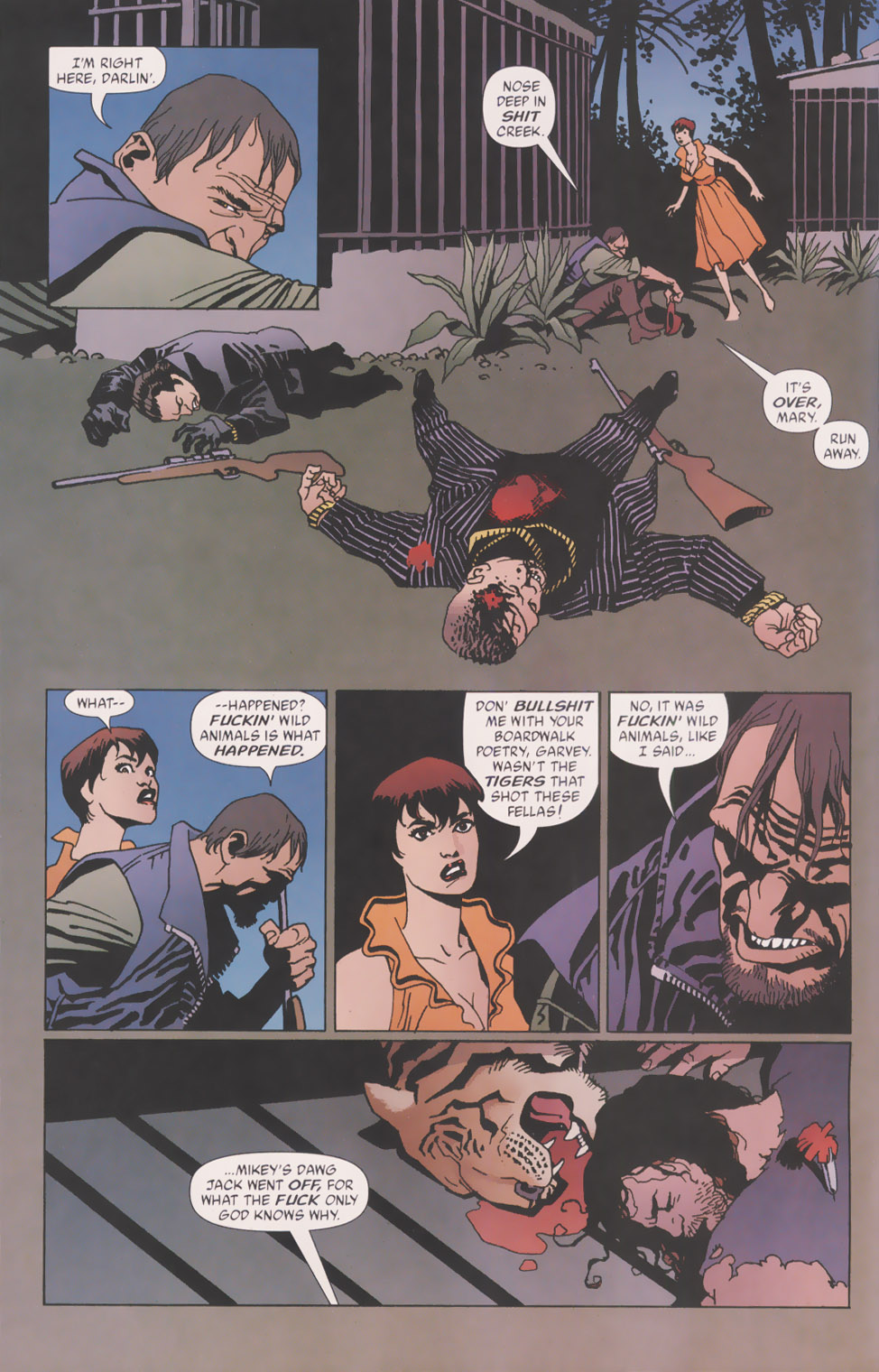 Read online 100 Bullets comic -  Issue #49 - 5